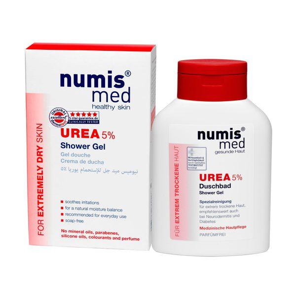 Гель для душа с 5 % мочевиной, 200 мл купить NumisMed с доставкой Numis Med c заказать по России и регионам