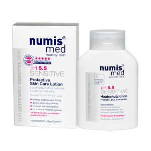 Защитное молочко для кожи «СЕНСИТИВ рН 5,5», 200 мл купить Numis Med с доставкой Numis Med c заказать по России и регионам