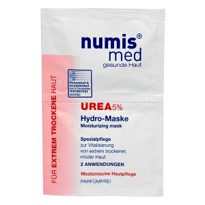 Увлажняющая маска для лица с 5 % мочевиной, двойное саше по 8 мл купить NumisMed с доставкой Numis Med c заказать по России и регионам